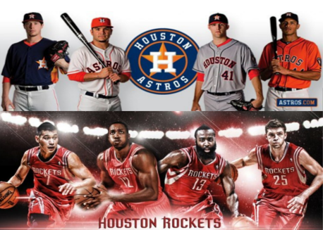 astros and rockets